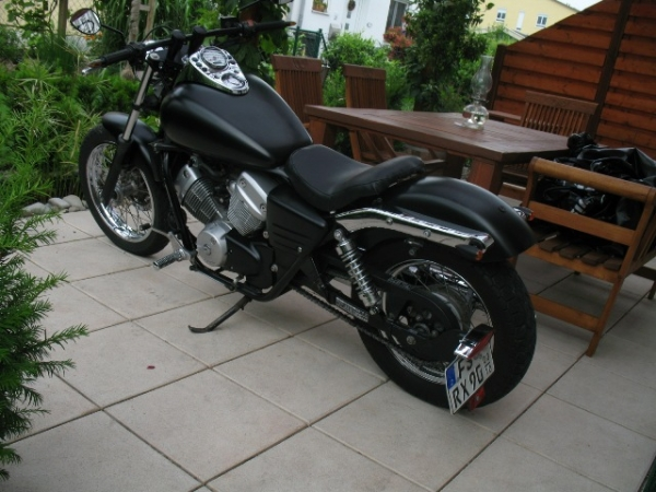 modifiche honda shadow 125 forum custom e chopper. Black Bedroom Furniture Sets. Home Design Ideas