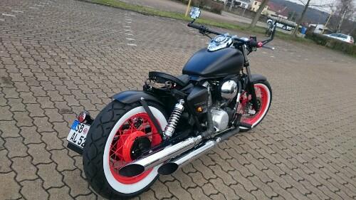 Bobber Kit For Xv Yamaha